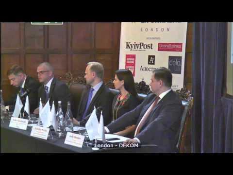Invest in Ukraine, London, UK - PANEL I. UKRAINE – BRIDGING EUROPE, US AND ASIA