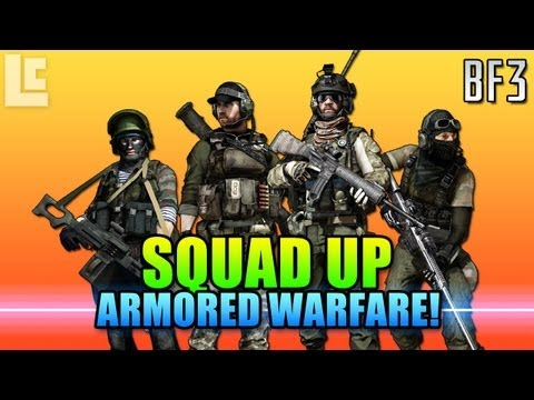 Squad Up - Gulf Of Oman, Controlling The Armor! (Battlefield 3 Gameplay/Commentary)