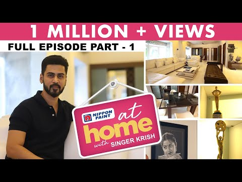 At home with Singer Krish | I spend most of my time in the studio | JFW Exclusive