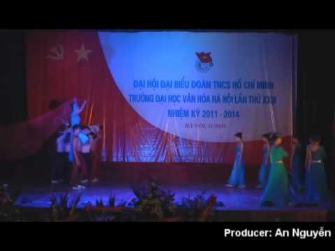 Chương trình Nghệ thuật chào mừng ĐH Đoàn trường ĐH Văn hóa Hà Nội 2011.avi