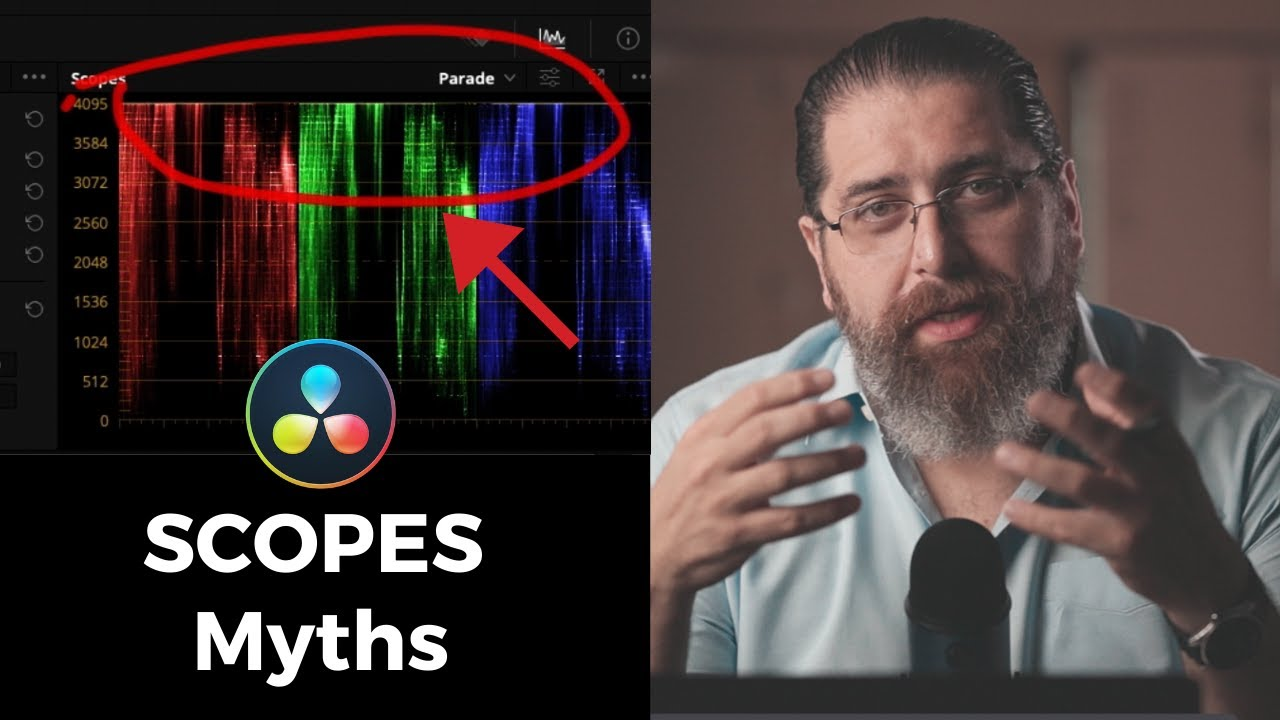 What BEGINNERS Get WRONG About Scopes [DaVinci Resolve 17]