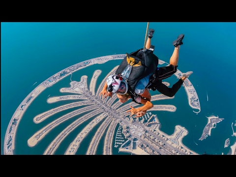 BEST SKYDIVING SPOT IN THE WORLD | SKYDIVE  IN DUBAI over THE JUMEIRAH PALM | BUCKETLIST ITEM