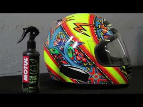 ▶️ How to clean my helmet Helmet & Visor Clean | Helmet Interior Clean