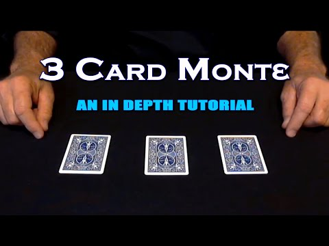 3 Card Monte ~ An In Depth Tutorial