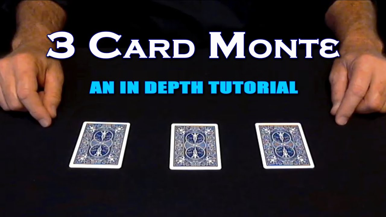 how to play three card monte