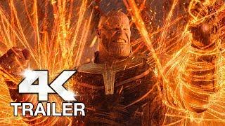 AVENGERS INFINITY WAR Blu-Ray Trailer (4K ULTRA HD) 2018