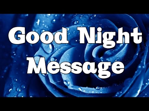 Good Night Message - Sweet Dreams Wishes