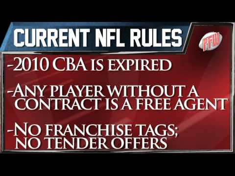 NFL Lockout Lifted