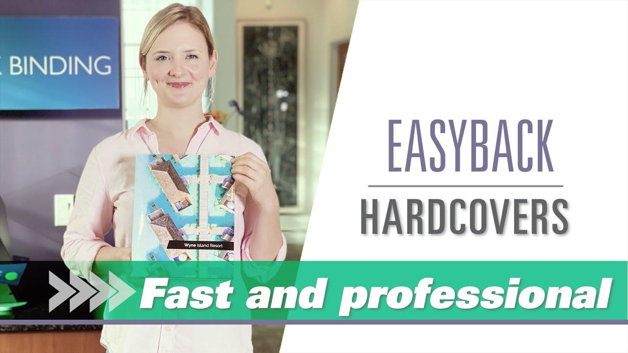 Easyback hardcovers video