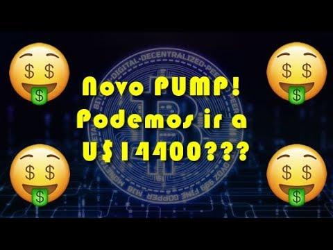 Análise Bitcoin - BTC - 01/08/2019 - Novo PUMP! Podemos Ir A U$14400???