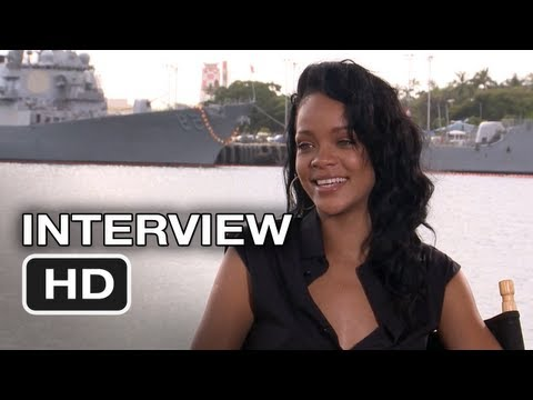 Battleship (2012) - Rihanna Interview - HD Movie