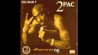 2pac 1 can t c me og all eyez on me book ii