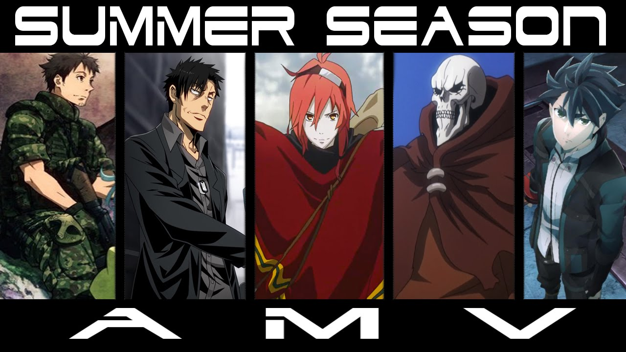 Anime Summer Season 2015 Amv Whisper In My Head Youtube