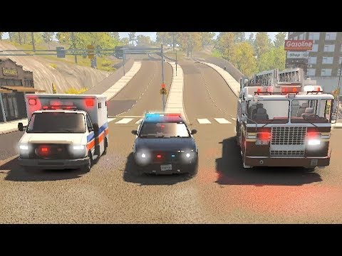 Flashing Lights - Police Fire EMS - First Look Gameplay! 4K