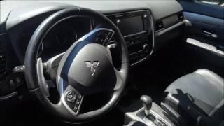 Remote start engine for Mitsubishi Outlander 3 with Pandora cloning system