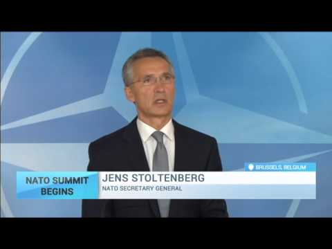 NATO Summit Begins: Defence ministers meeting in Brussels is dominated by the Syria crisis