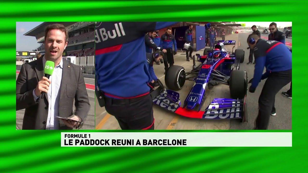 Le paddock reuni à Barcelone - CANAL+ Sport