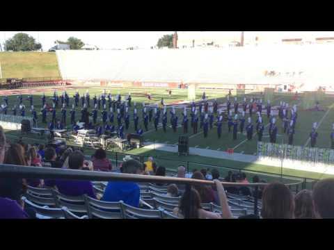 East Ascension High School Spartan Band - Showcase 2016