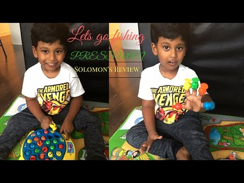Lets Go Fishing Game By Pressman - Toy Review