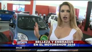 Motor Show 2014:  Los automóviles  y las mujeres más bellas en el mismo lugar