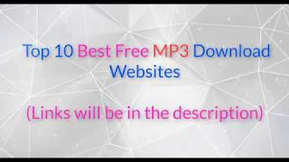 10 best free mp3 music download websites