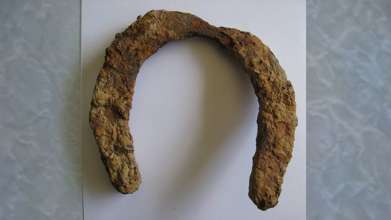Metal Detecting New Zealand Found My First Horseshoe And