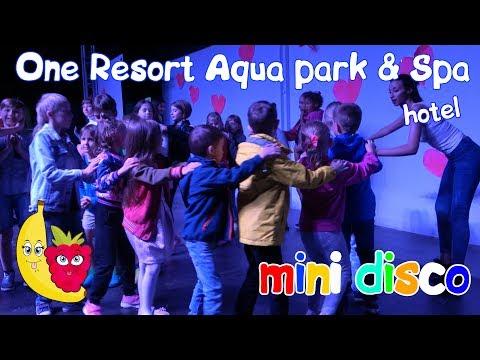 ДЕТСКАЯ ДИСКОТЕКА В ТУНИСЕ! Отель One Resort Aqua Park & Spa ЖЖЁТ. Mini Disco. Детский канал