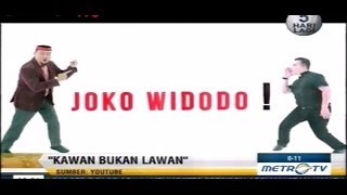 Iklan Jokowi JK versi Cak Lontong, Denny Candra & Kawan Jokowi