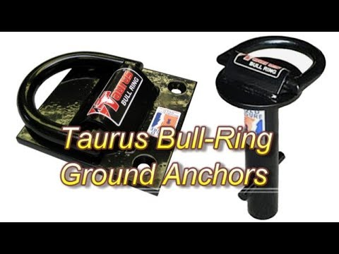 Introducing Taurus Bull Ring High Security Ground Anchors