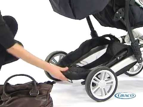Poussette QUATTRO TOUR de GRACO - YouTube