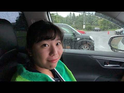 岩手県オープンゴルフトーナメント・最終日は1時間スタートが遅れます。