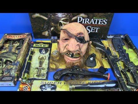 Box of Toys ! Pirates Guns Toys,Weapons & Equipment Kids Toys