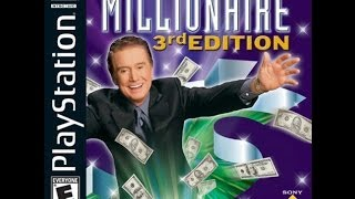 Who Wants To Be A Millionaire 3rd Edition PS1 Game 3