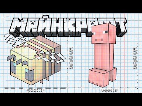 Как создавали мобов в Майкрафт ?   Майнкрафт Открытия