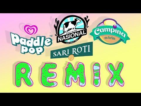 Susu nasional x Paddle pop x Campina x Sari roti song  |remix/mashup