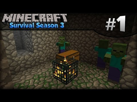 Minecraft Survival Season 3 - Episode 1 - Random Seed!