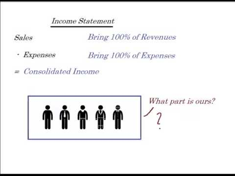 Accounting treatment minority interest consolidating student loans