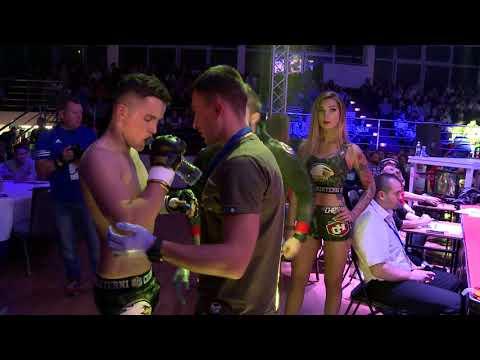 SYLWESTER MILLER VS ROBERT PTASIŃSKI - ARMIA FIGHT NIGHT 1, SIEDLCE