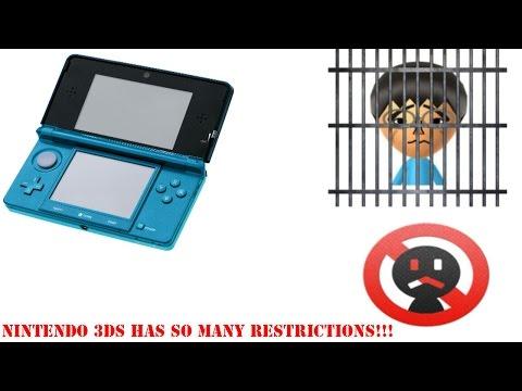 Nintendo 3DS Social Restrictions Suck!!