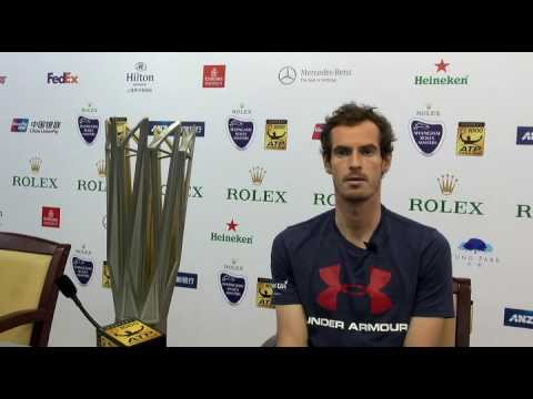 Andy Murray Champion - 2016 Shanghai Rolex Masters