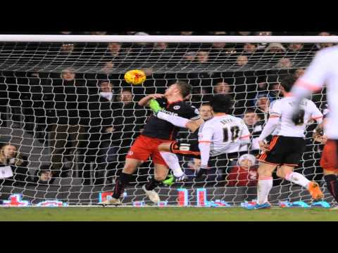 Saturday 17th January 2015 - Fulham 2 Reading 1 - Sky Bet Championship 2014/15 Highlights.