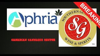 Aphria and Southern Glazer's Wine & Spirits strike an agreement