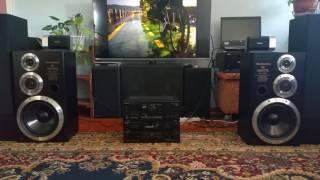 Technics 502 su x502, cd sb 502. Mega bass carbon