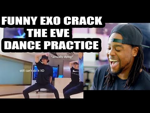 FUNNY MOMMENTS | Things You Didn't Notice In EXO's The Eve Dance Practice Ver | REACTION!!!