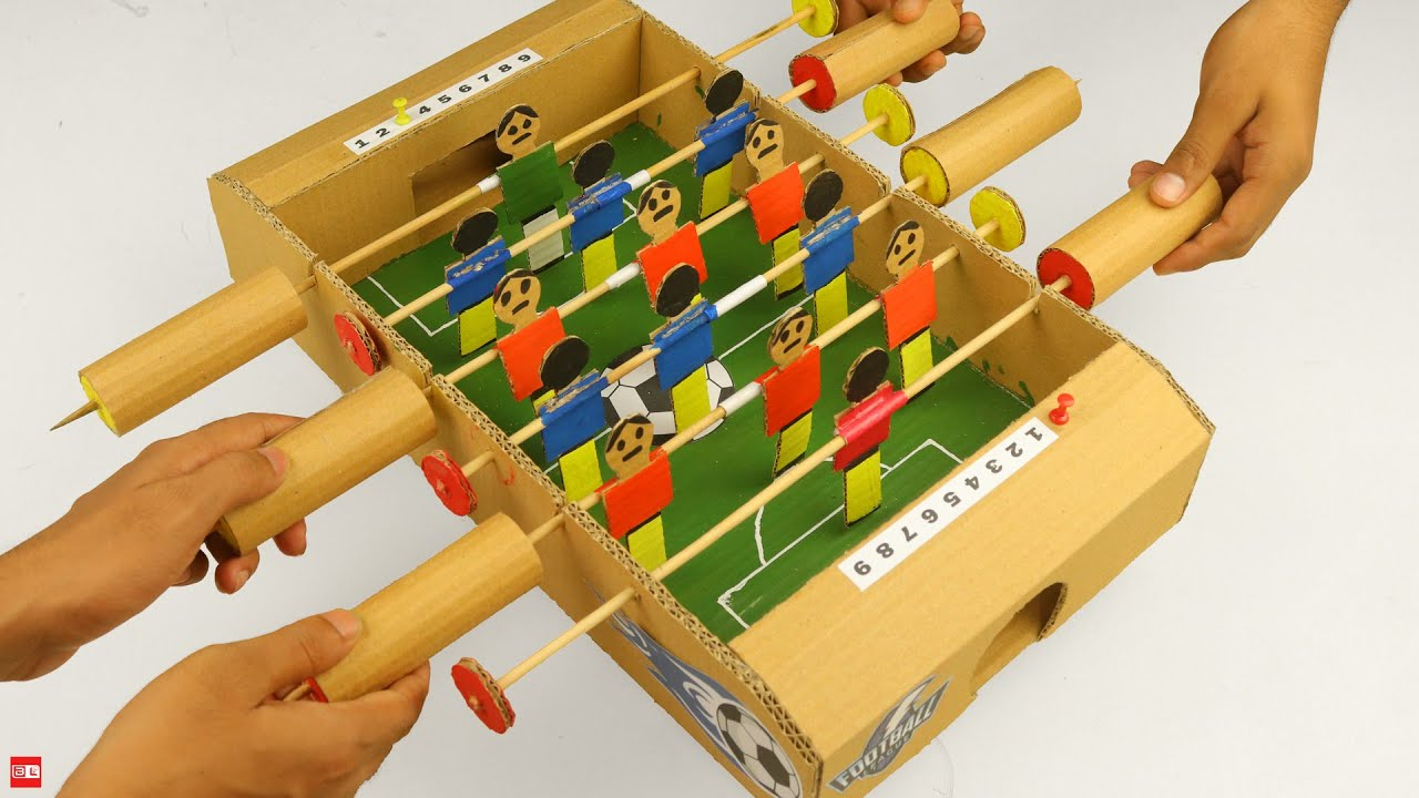 How to Build Amazing Football Table Game for 2 Players | Soccer Table