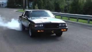 Buick Grand National: New Transmission/Converter/Burnout