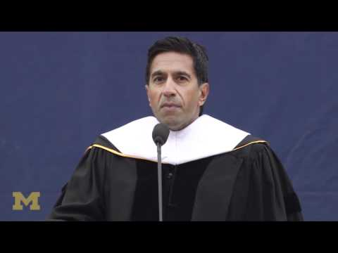 Sanjay Gupta at 2012 spring commencement