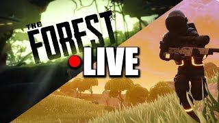 THE FOREST || JESTEM KANIBALO-ODPORNY ! || The Forest || LIVE - Na żywo