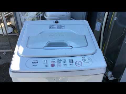 東芝 洗濯機 AW-50GA 分解 掃除