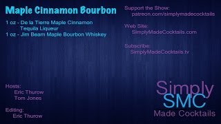 Shooter: Maple Cinnamon Bourbon